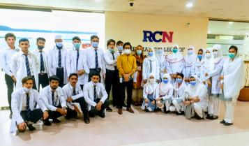 Student Representing RCN in English Proficiency Test